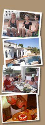 Vier uw familiefeest aan de Costa del Sol in Andalusie - Spanje